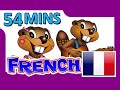 """French Level 1 DVD"" - 54 Minutes, Learn to Speak Français, Easy French Lessons, Kids School"