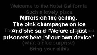 Hotel California - The Eagles  Lyrics