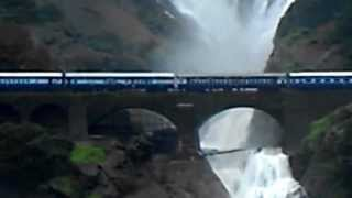 incredible Indian Rail road- Kerela- Goa: Dudhsagar water fall