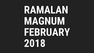 MAGNUM 4D Monthly Predictions -  Ramalan Untuk Bulan FEBRUARY 2018