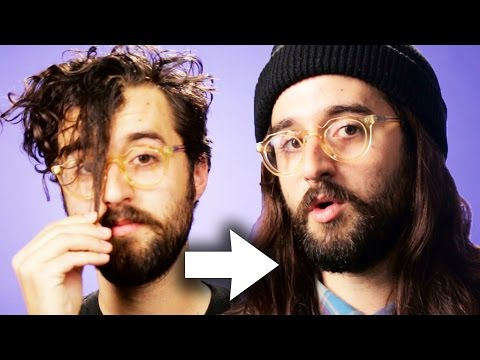 Guys Try Long Hair For A Week