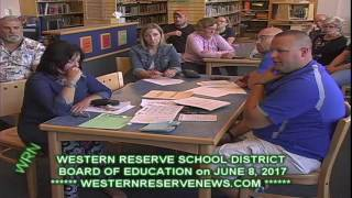 WHATS HAPPENING IN WESTERN RESERVE LOCAL SCHOOL SPORTS JUNE 8-2017