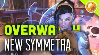 THE SYMMETRA REWORK! - Overwatch Gameplay (Funny Moments)