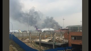 Passenger Plane Crash Nepal International Airport