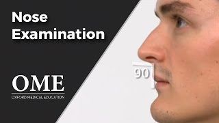 Nose Examination (Inspection) - ENT