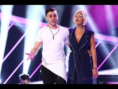 """Alina Eremia și fratele ei, Mircea, au interpretat în duet piesa """"Cups Song"""""""