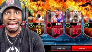 NEW KARL MALONE & PLAYMAKER PACK OPENING! NBA Live Mobile 16 Gameplay Ep. 46