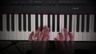 Great I AM Worship. Piano Tutorial