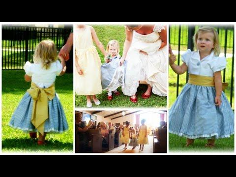 Flower Girl Dress - How to DIY