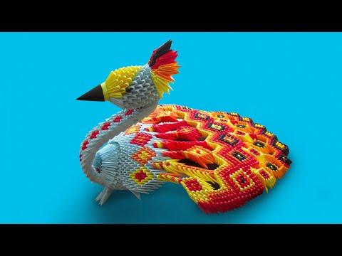 Модульное оригами животные смотреть видео