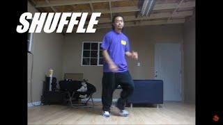 Manual de dança House - O Shuffle