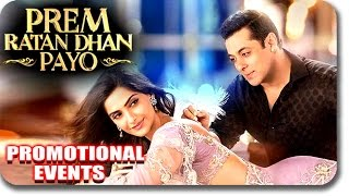 Prem Ratan Dhan Payo Movie (2015) Full Promotional Events | Salman Khan, Sonam Kapoor | Uncut