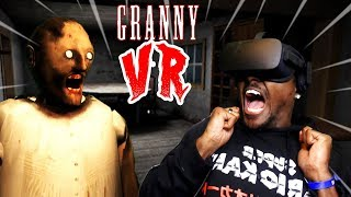 GRANNY IS TERRIFYING IN VR | Granny VR (w/ Heart Rate Monitor)