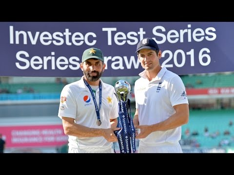 Pakistan win at the Oval to tie Investec Test Series 2-2