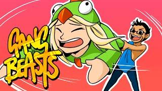 KALA IS A CHEATER!!! | Gang Beasts