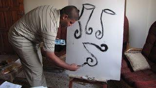 غزة: أكثر من ألف لوحة تشكيلية بريشة مريض بالتوحد