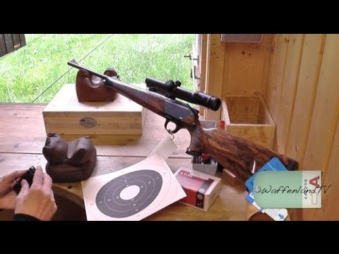Shooting a Blaser R 8 caliber 9 3x62