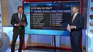 NHL Tonight:  2015 Re-draft:  Going through and re-drafting the 2015 NHL Draft  Jan 14,  2019