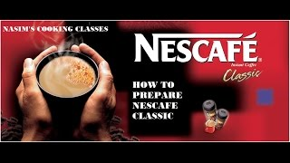 NESCAFE CLASSIC - NASIM