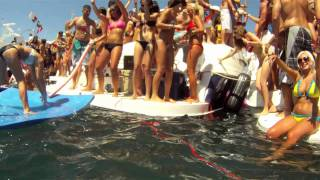 2011 Chicago Scene Boat Party - Helmet Cam