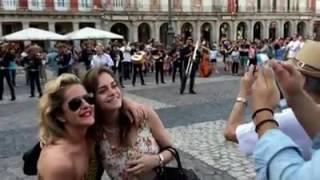 Flashmob Madrid Mariachi play Huapango de Moncayo