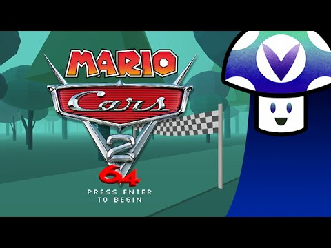 Vinesauce Vinny Mario Cars 2 64