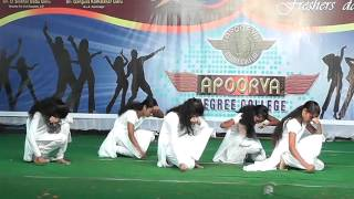 Must Watch - Nirbhaya Nivali - AADYA-2013 Apoorva  Degree College Freshers' Day