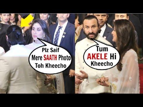 Xxx Mp4 Kareena Kapoor Saif Ali Khan FIGHT In FRONT Of Media At Isha Ambani S WEDDING 3gp Sex
