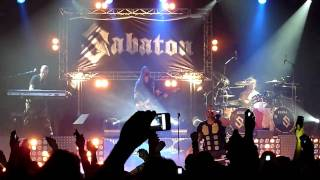 Sabaton - The Final Solution (Live) Stockholm Fryshuset Arenan 27/11 2010