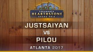 HS - Justsaiyan vs Pilou - Hearthstone Grand Prix DreamHack Atlanta 2017