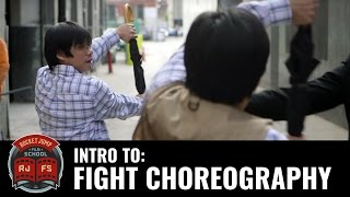 Intro to FIGHT CHOREOGRAPHY– With Yung Lee! (GakAttack)
