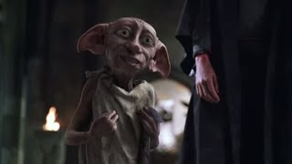 Harry Potter and the Chamber of Secrets: Harry Potter frees Dobby the house-elf.