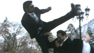 David Billa Fighting Scene - Dimitri Extraordinary Stunts With Opponents - Vidyut Jamwal - HD