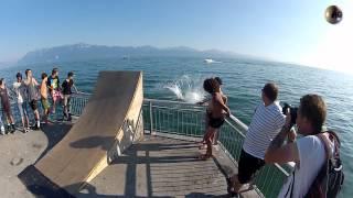 Lausanne Slalom Contest 2012 - Water-jump, Speed Slalom, Freestyle Slalom