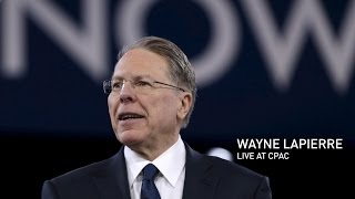 Watch Live: NRA Executive Vice President and CEO Wayne LaPierre