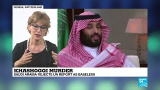"""Khashoggi murder: """"The evidence points to the responsibility of the state of Saudi Arabia"""""""