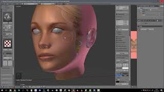 Blender 2 79 Texturing d'un visage en mode stencil