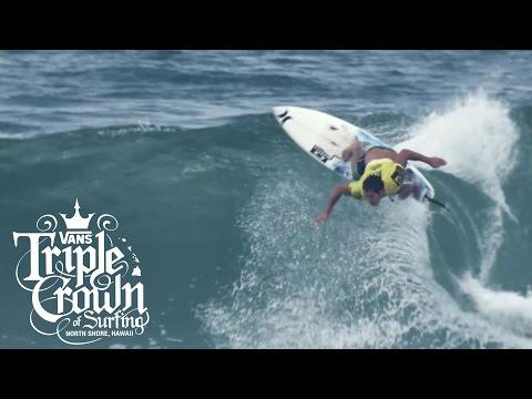 Reef Hawaiian Pro: REDDIT | Vans Triple Crown of Surfing | VANS