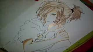 Speed drawing - Yuma Mukami (DiabolikLovers More, Blood)