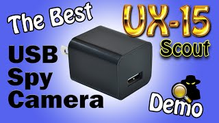 The Best Motion Detect USB Spy Camera In The World: 2017 UX-7 ScoutOut