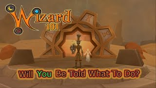 Wizard101- Will YOU Be Told What To Do With Your Time & Money?!?