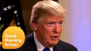 Donald Trump Apologises to the UK Over Anti-Muslim Tweets | Good Morning Britain