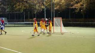 Lacrosseteam Tilburg Titans op Brabant10