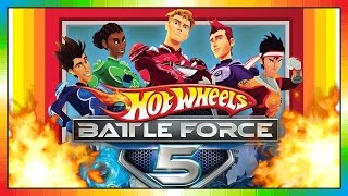 Hot Wheels - Battle Force 5 - Cars (Videogame - Gameplay - Game Test - Spieletest)