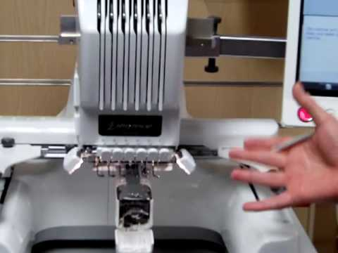 Brother PR650 Embroidery Machine Demonstration