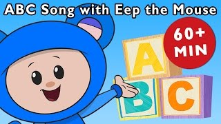 ABC Song With Eep the Mouse and More   Nursery Rhymes from Mother Goose Club!