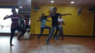 Blockbuster song practice video