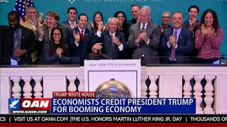 Economists Credit President Trump for Booming Economy