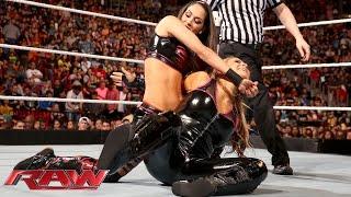 Natalya & Paige vs. Brie Bella & Alicia Fox: Raw, January 25, 2016