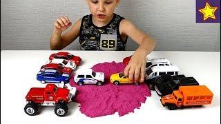 Соревнования с машинками Cars for kids